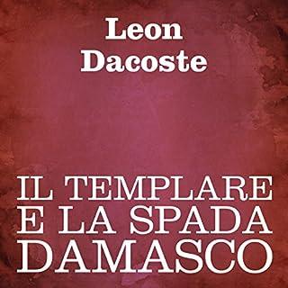 Il templare e la spada damasco copertina