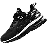 JARLIF Kids Athletic Tennis Running Shoes Breathable Sport Air Gym Jogging Sneakers