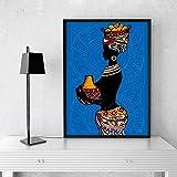 wandkunst leinwand Schwarzafrikanische Wanddekoration für
