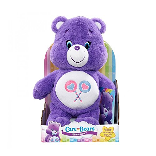 Just Play Giochi Preziosi Care Bears Orsetti del Cuore Peluche con DVD