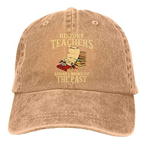 Unisex Popular Denim Cap History Teachers Always Bring Up The Past Men Women Trucker Hat Vintage Adjustable Baseball Caps