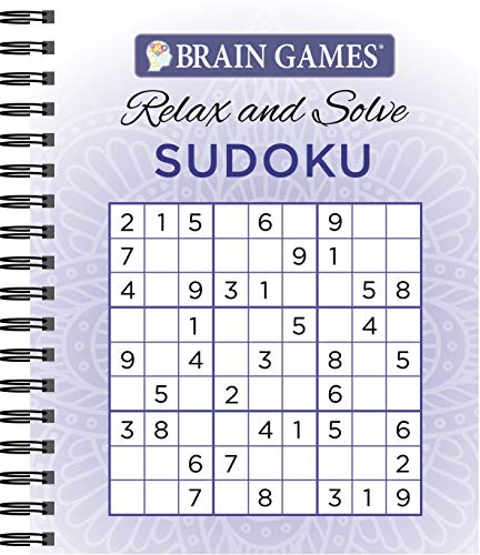 Compare Textbook Prices for Brain Games - Relax and Solve: Sudoku Purple  ISBN 9781680227833 by Publications International Ltd.,Brain Games