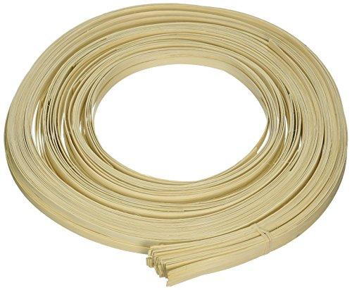 Gemenebest mand plat riet 9.53 mm 1 lb spoel-265 voet, Man-Made-Material, Bruin, 1