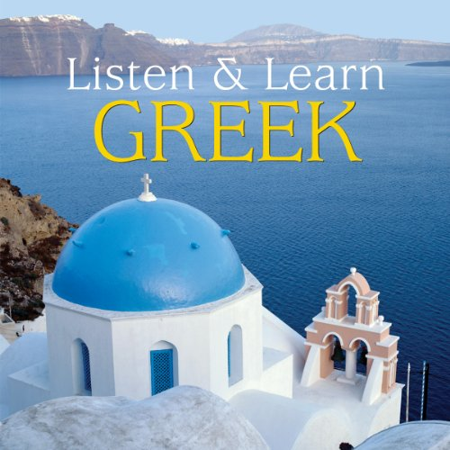 Listen & Learn Greek Audiobook By Dover Publications cover art