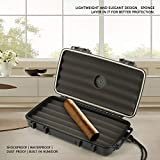 Generic 5/15/20 Cigarettes Cigar Humidor Humidifier Dust-Proof Cigar Organizers Home Travel Cigar Storage