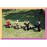 B品 ヤトミ アンティーク 木製三輪車 木製三輪車 4色 1.5才から 1127