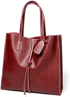 Fashion New Casual Casual Fashion Casual Crossbody Bags in Large Capacity Shoulder Bags (Color : Red)