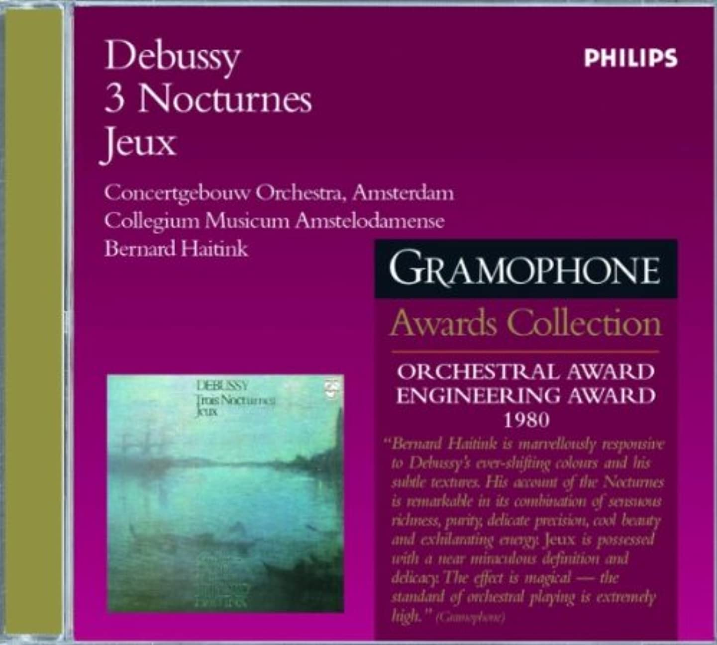 Debussy: Nocturnes/Jeux