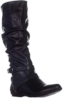 Kali Women/'s Knee High Side Zipper Faux Suede Boots Beyond Adults 8 9 10 11