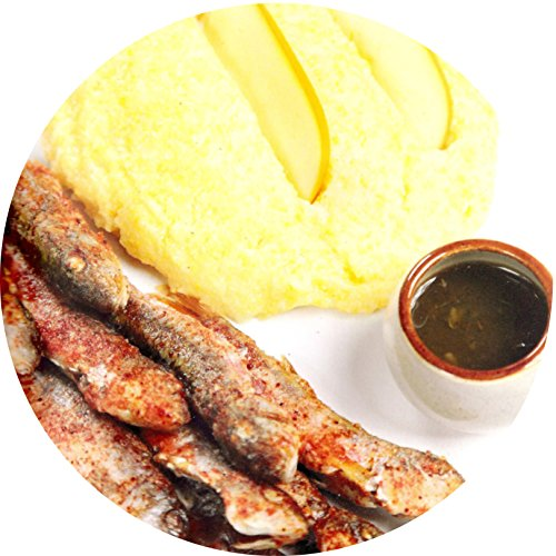 """Meat dish. Goat-fish with """"Tkemali"""" sauce and foxtail: Fish dish (Recipes of national dishes) (English Edition)"""