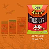 REESE'S, HERSHEY'S & KIT KAT Christmas Chocolate Candy Bulk Variety Mix, Individually Wrapped, Perfect for Stocking Stuffing, Holiday Parties and Gift Bags, 265 Count