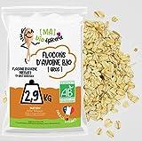[Ma] bio-épicerie | Flocons d'avoine – gros BIO | 2,9 Kg | Sachet vrac | Certifié biologique | Riche en fibres et source de protéines