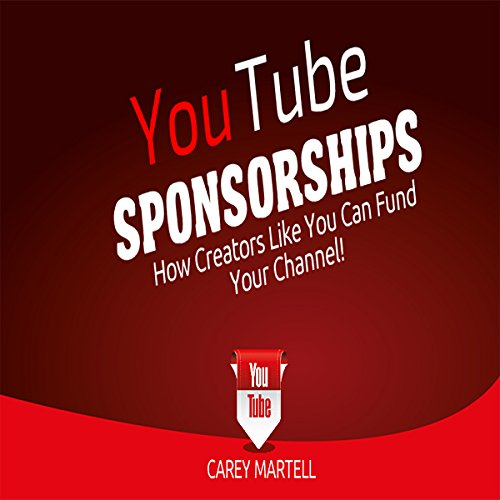 YouTube Sponsorships audiobook cover art