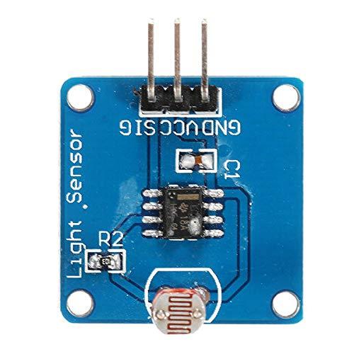 Fácil de montar La intensidad de luz del módulo del sensor fotosensible luz Sensor de luz placa del módulo de sensor for A-r-d-u-i-n-o - productos que funcionan con placas A-r-d-u-i-n-o oficiales 3Pcs