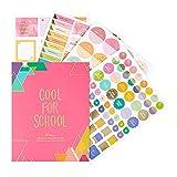 Erin Condren Designer Stickerbuch - Too Cool for School, Edition 3 (765 Sticker) Dekorative und niedliche Aufkleber zum Personalisieren von Planern, Notizbüchern und mehr.