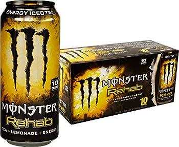 Monster Rehab Tea + Lemonade 10 Count