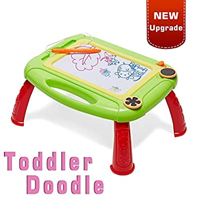 LODBY Kids Toys for 2-4 Year Old Boys, Toddler Magnetic Doddle Board Drawing for Kids Toys for Boys Age 1-4 Christmas Birthday Gifts for 1 2 3 4 Year Old Boys Gifts Age 1-4