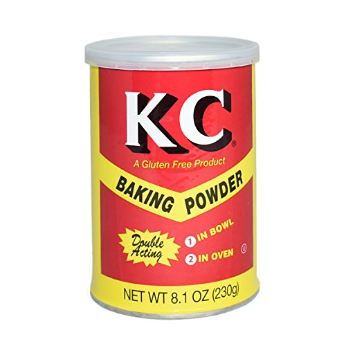 KC Baking Powder, 8.1 Ounce (Pack of 24)