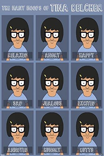 Bob's Burgers - Moods of Tina Poster Drucken (60,96 x 91,44 cm)