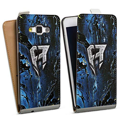 DeinDesign Tasche kompatibel mit Samsung Galaxy A5 (2015) Flip Case Hülle ApoRed Merchandise Logo