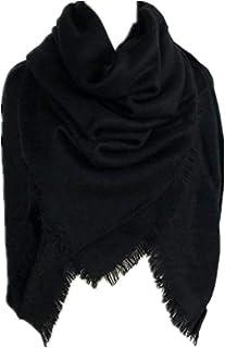 f3e6b8387e MRULIC Echarpes foulards femme Grande Taille Femme Homme Echarpe Hiver  Chaud en Cachemire Imitation Carreaux Doux