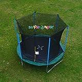 Super Jumper Gartentrampolin, Outdoor Trampolin mit Sprungmatte, Sicherheitsnetz und Randabdeckung |...