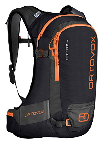 Ortovox Men's Free Rider 26 L Backpack, Black (Black Raven), 59 centimeters
