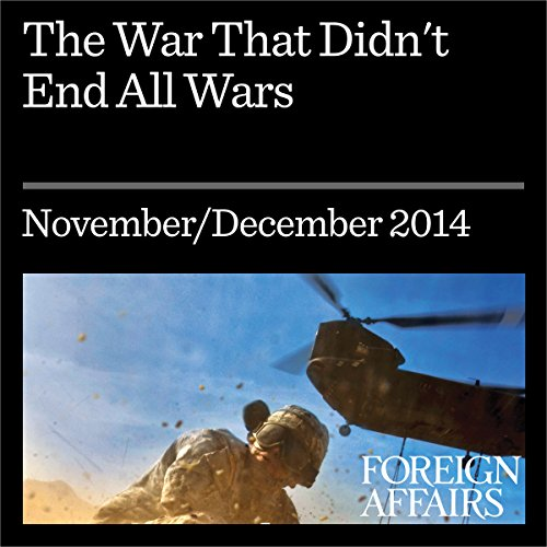 The War That Didn't End All Wars audiobook cover art