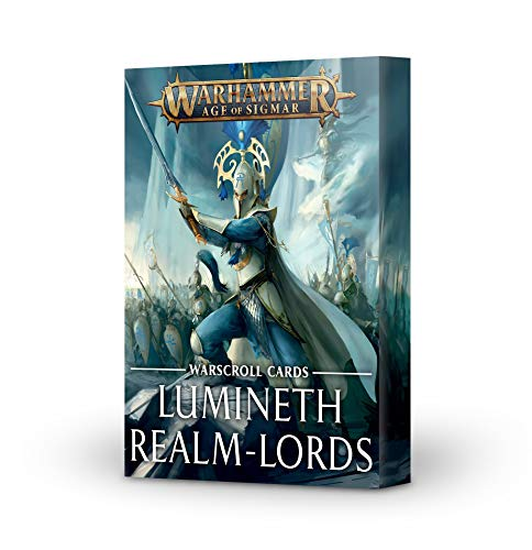 Lumineth Realm-Lords: Warscrolls 2021 INGLÉS
