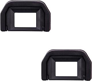 JJC Visor Ocular Eyecup para Canon EOS 77D 800D 760D 750D 700D 650D 600D 550D 500D 450D 400D 350D 300D 200D 100D 1100D 1200D Cámaras Reemplazo de Canon Ef. Eyepiece (Lote de 2)