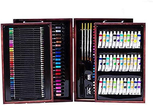 komplett Malset-Buntstifte 176 Teile eingestellt, Kindermalerei, Geschenkbox, Hilfsmittel für die Jugend
