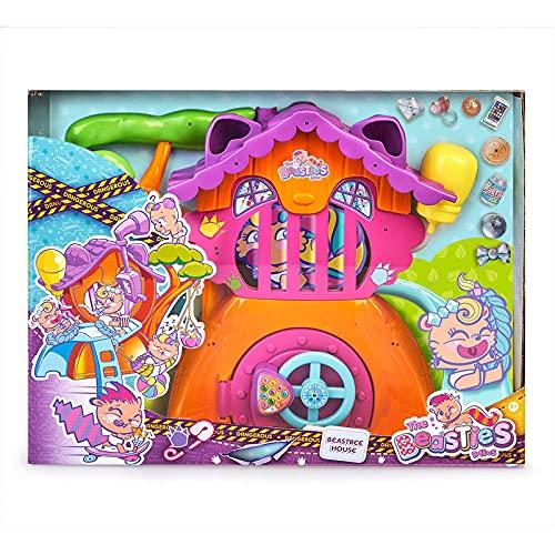 The Bellies From Bellyville- Beastree House, casa de los Beasties Amigos de los Bellies, Accesorios para muñeca bebé, Regalos (Famosa 700015795)