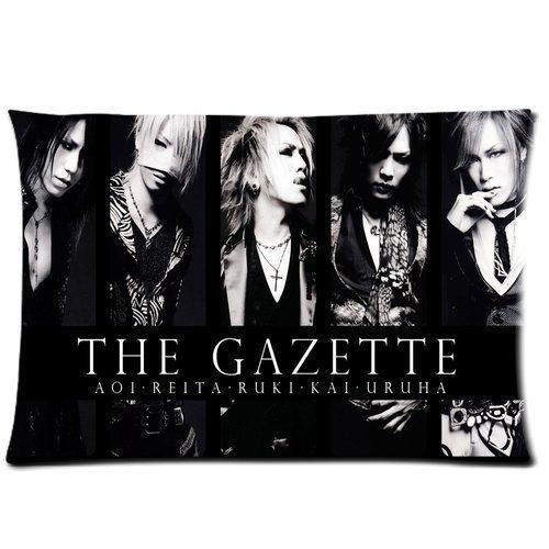 Tuesday Custom The Gazette 2013 Jrock Pillowcase Rectangle Soft Cotton Zippered Pillow Case Kissenbezüge (35cmx50cm)
