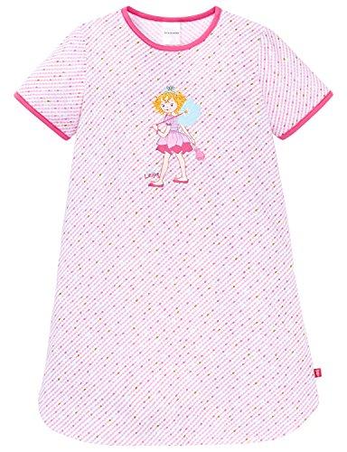 Schiesser Mädchen Nachthemd 1/2, Weiß (Weiss 100), 98 (Herstellergröße 098)