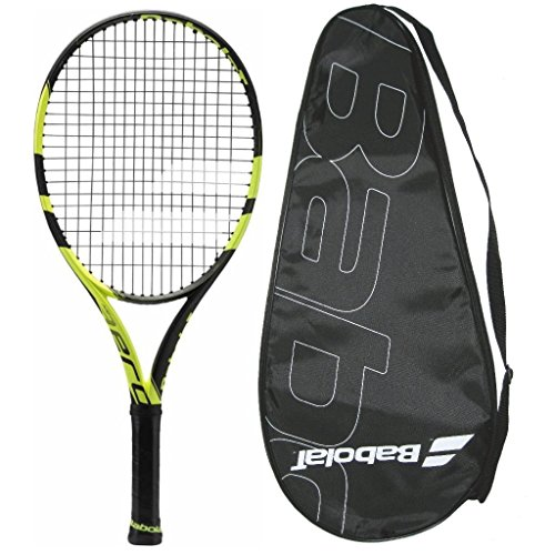 2018 Babolat Pure Aero Junior 25 - Strung with Cover (4-0/8)