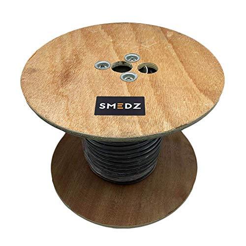 Smedz 100 m CAT6 UTP-Kabel für Außen- und Außenbereich, SWA Stahl gepanzert, Kupfer