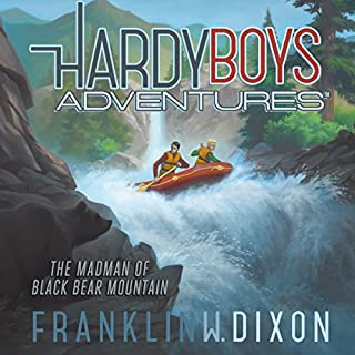 The Madman of Black Bear Mountain     Hardy Boys Adventures, Book 12              Written by:                                                                                                                                 Franklin W. Dixon                               Narrated by:                                                                                                                                 Tim Gregory                      Length: 2 hrs and 54 mins     Not rated yet     Overall 0.0