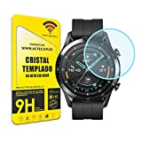actecom® Protector Pantalla Compatible con Huawei Watch GT2 Cristal Vidrio Templado