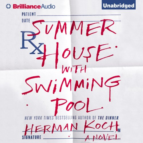 Summer House with Swimming Pool     A Novel               Written by:                                                                                                                                 Herman Koch                               Narrated by:                                                                                                                                 Peter Berkrot                      Length: 11 hrs and 30 mins     2 ratings     Overall 4.5