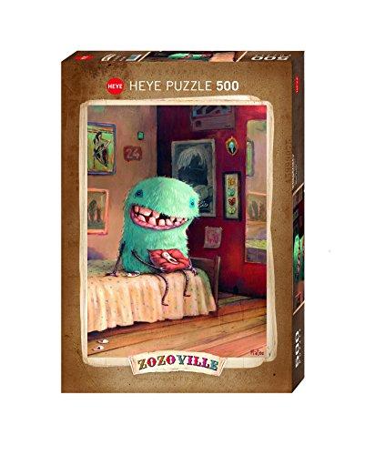 Heye - 58080 - Puzzle Classique - Zozoville Milk Tooth - 500 Pièces