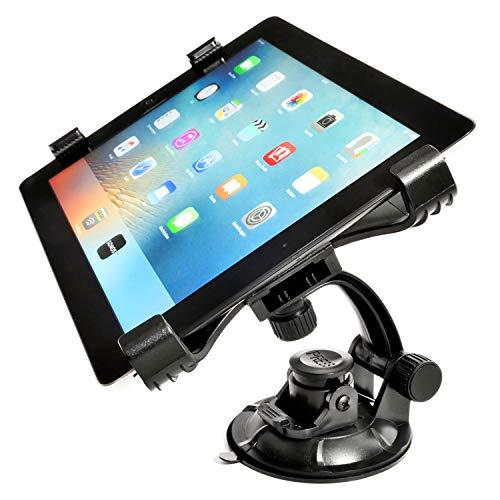 Universal Tablet-Halter Ständer; KFZ Auto-Halterung Saugnapf Kopfstütze Befestigung Rücksitze 7-11 Zoll