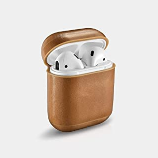 Icarer Leather Beige Headphone & Headset Bags