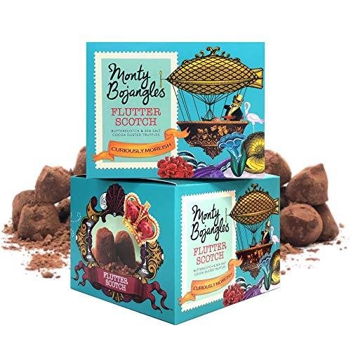 Monty Bojangles Flutter Scotch Kakao bestäubte Pralinen, 2 x 150g Geschenkboxen