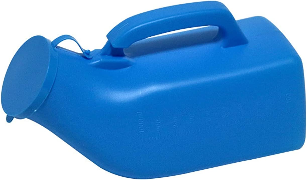 safety XXFI Portable Urinal Thick Plastic Screw-on Max 55% OFF Bedpan with Bottle L