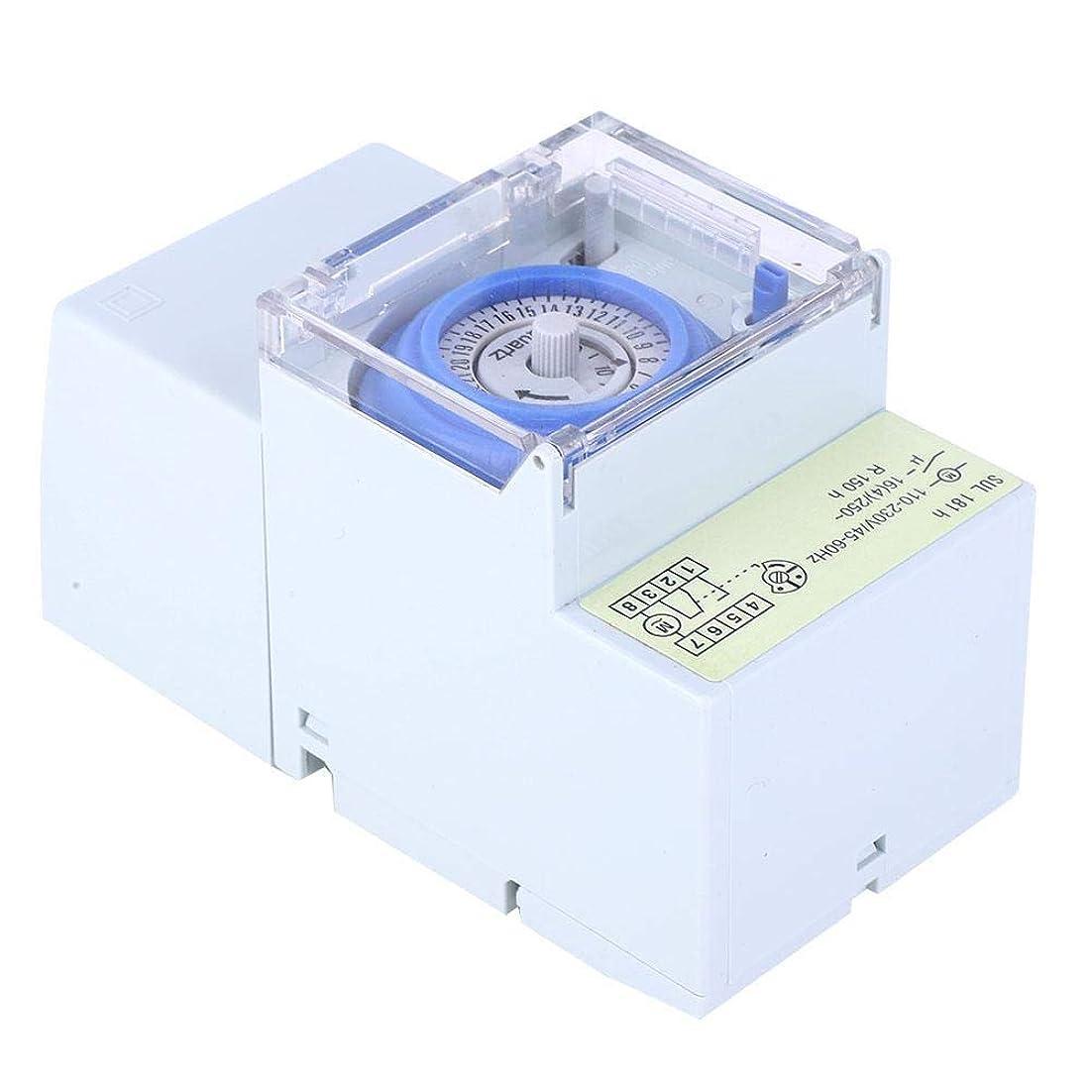 空洞マトロン投資するLCDパワーメカニカルタイマースイッチ、週刊SUL181hデジタルタイムスイッチ、家電製品用ライト用AC110V / AC230V DIY家庭用