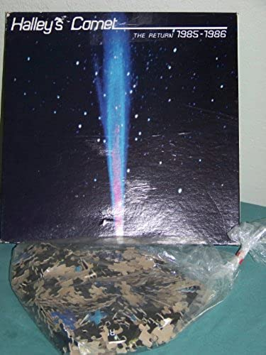 Halley's Comet the Return 1985 - 1986 Jigsaw Puzzle 500 Pieces by Eaton