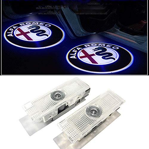 HUAYIN 4 Stück Autotür Ghost Shadow Licht Logo Türbeleuchtung Einstiegsbeleuchtung Projektion Licht