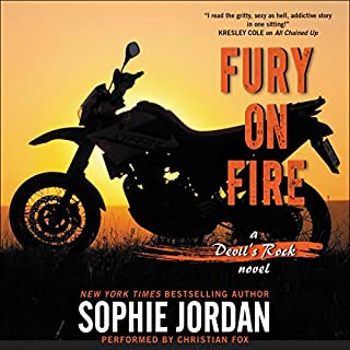 Fury on Fire audiobook cover art