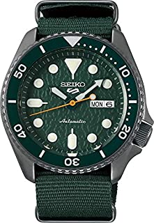 Seiko Men's Analogue Automatic Watch with Cloth Strap SRPD77K1