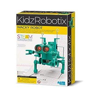 4M KidzRobotics Wacky Walking Robot - 51frHEXsJ2L - 4M KidzRobotics Wacky Walking Robot